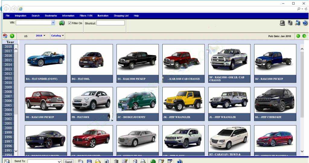 Mitsubishi ASA EPC Electronic Parts Catalogue Free Download | | OBD2