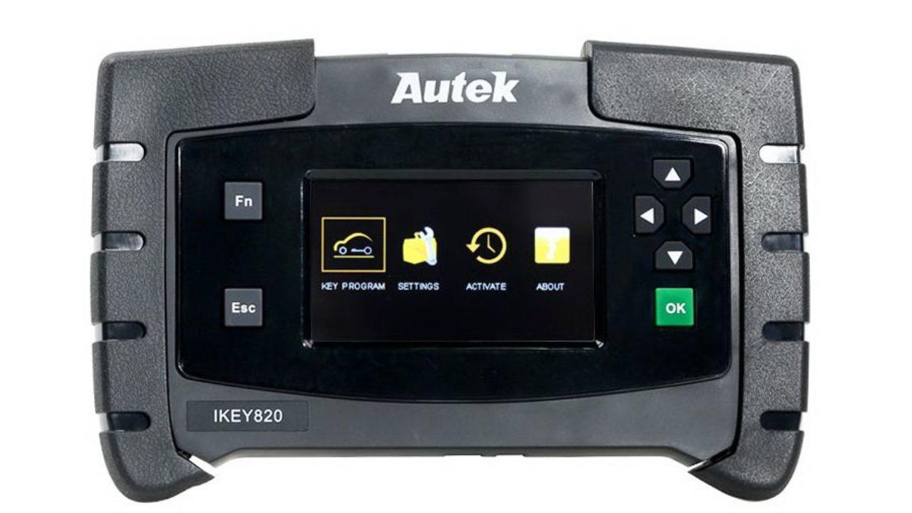 Original Autek IKey820 Key Programmer Universal Car OBD Key