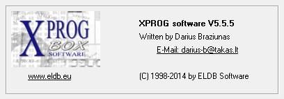 2019 Latest ATMEGA64 Repair Chip Update Software for XPROG-M Programmer V5.0/V5.3/V5.45/V5.50 to V5.84 Full Authorization (Including CAS4)