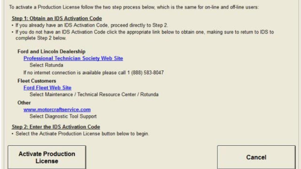 Latest Ford IDS V112 V111 V108 Software Free Download