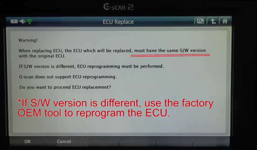 G-scan2 Ssangyong Rexton 2014 ECU Replacement | | OBD2 Scanner Blog