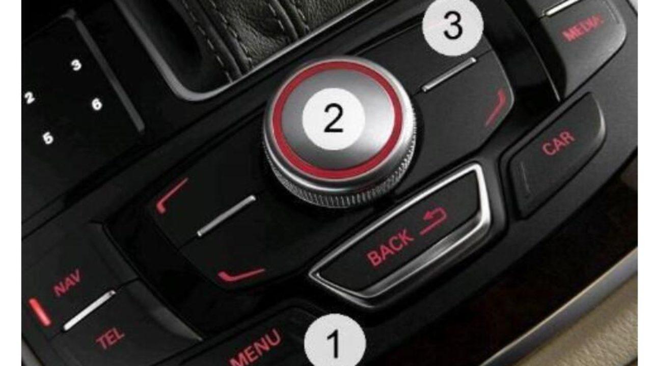 How to Enable Audi MMI Green Menu (Hidden Menu) by VCDs & Script