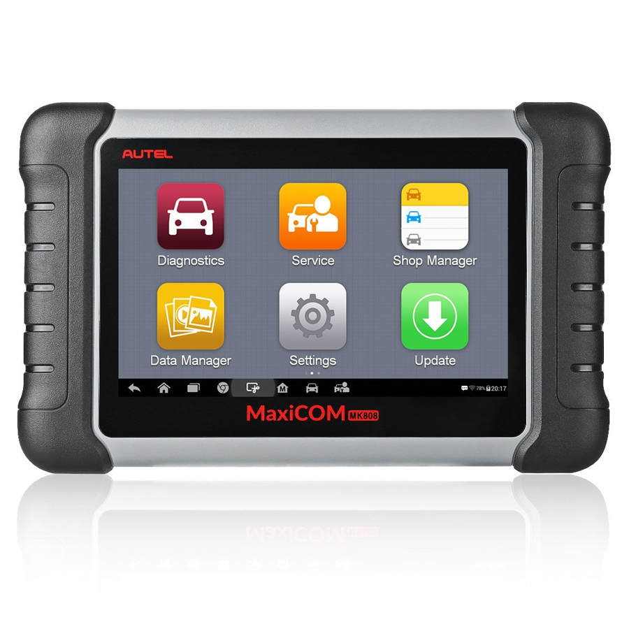 Promotion Autel Original MaxiCOM MK808 Diagnostic Tool 7-inch LCD Touch Screen Swift Diagnosis Functions of EPB/IMMO/DPF/SAS/TMPS and More