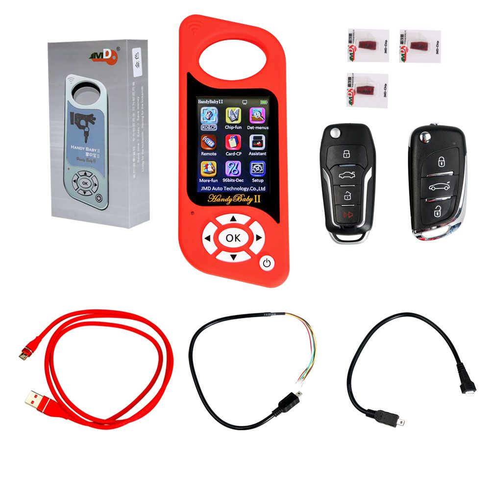 Handy Baby 2 II Key Programmer Hand-held Car Key Copy Key Programmer for 4D/46/48 Chips