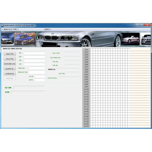 BMW Immo ID Editor Crack v2.42 Free Download