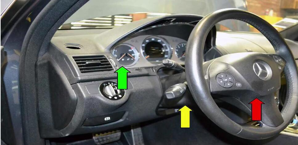 How to Remove & Replace Benz EIS (Electrical Ignition Switch)