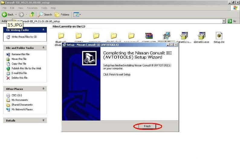 Install Nissan Consult 3 III Plus Diagnostic Software (15)
