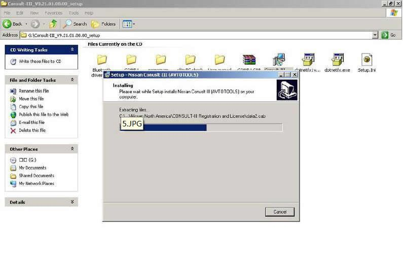Install Nissan Consult 3 III Plus Diagnostic Software (5)