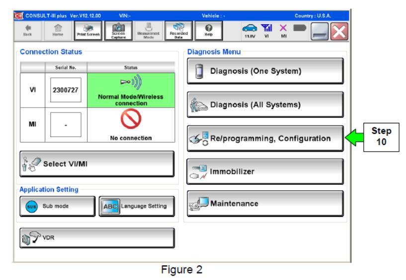 Nissan Consult 3 Plus Reprogramming ECU TCM Guide (3)