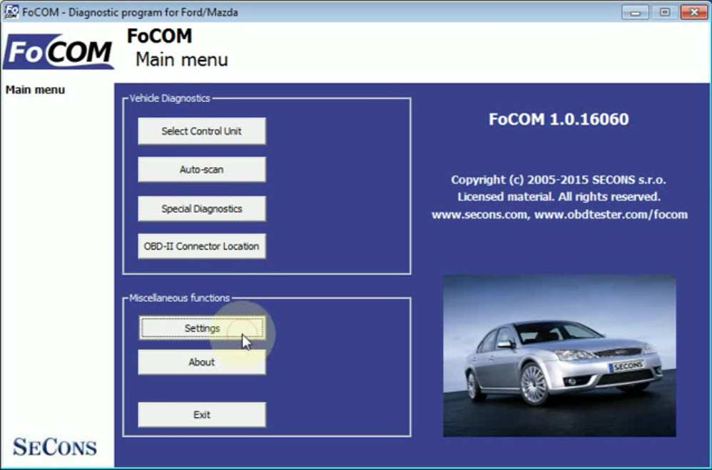 FCOM BCM Trailer Hitch Type Configuration for Ford Focus 2011