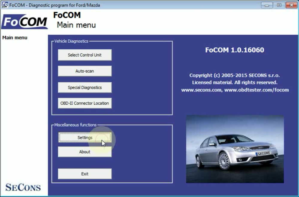 Ford Focus Cruise Control CCF Programming by FCOM