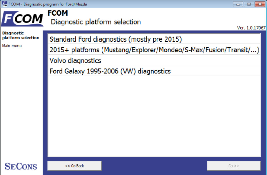 How to Use FCOM Diagnose Vehicles