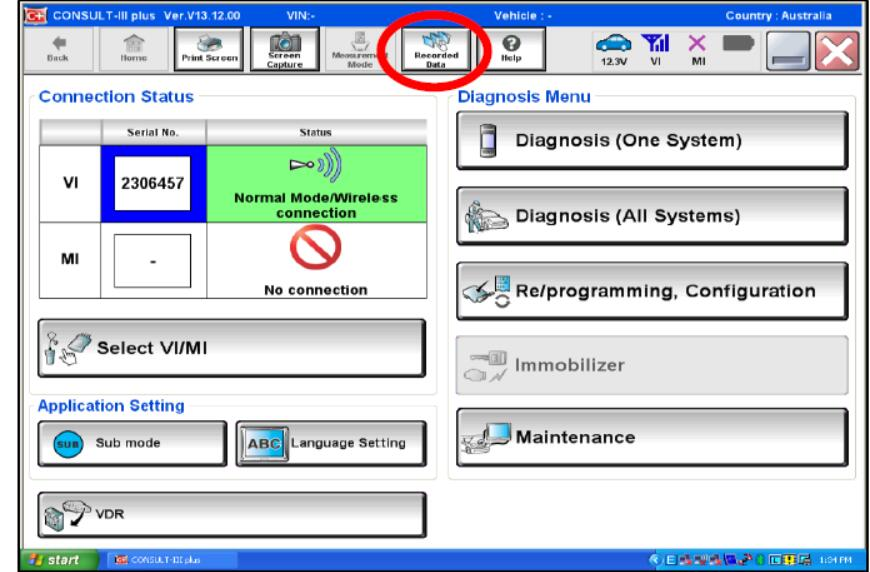 Nissan Consult 3 Plus VDR Setting Guide     OBD2 Scanner Blog