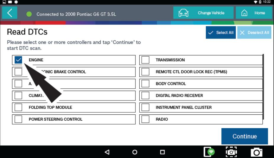 Bosch ADS 625 Read & Clear DTCs for Pontiac G6 2008 (2)