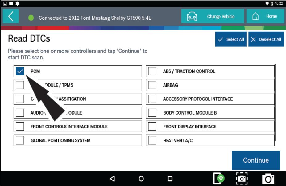 Bosch ADS 625 Read & Clear Fault Diagnostic Code for Ford Mustang 2012 (2)