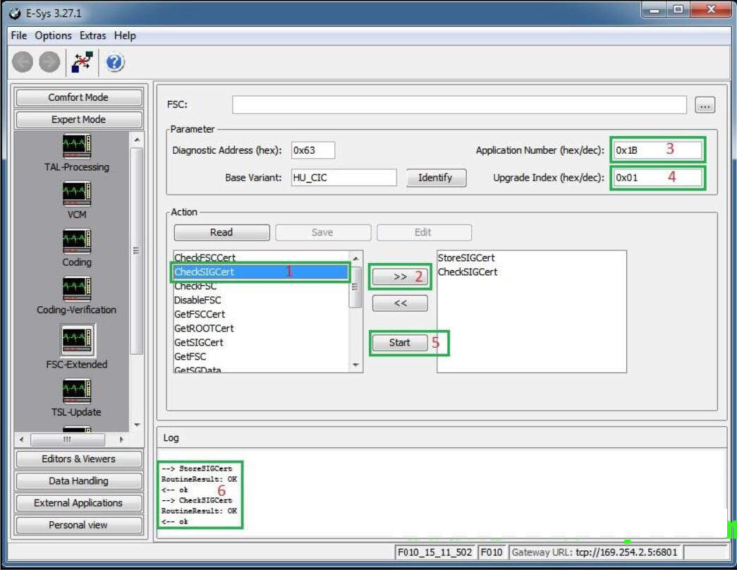 FSC Code Solution for BMW E and F Series CIC