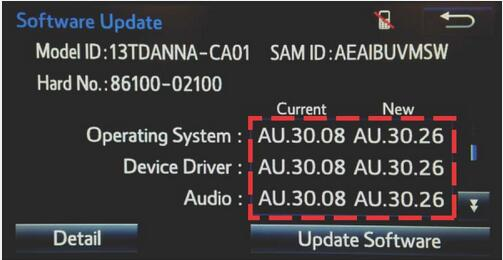 How to Update Toyota Entune Multimedia Software by Yourself (11)