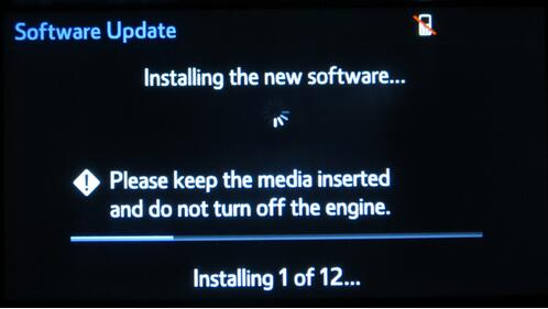 How to Update Toyota Entune Multimedia Software by Yourself (14)