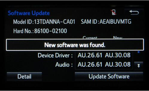 How to Update Toyota Entune Multimedia Software by Yourself (9)