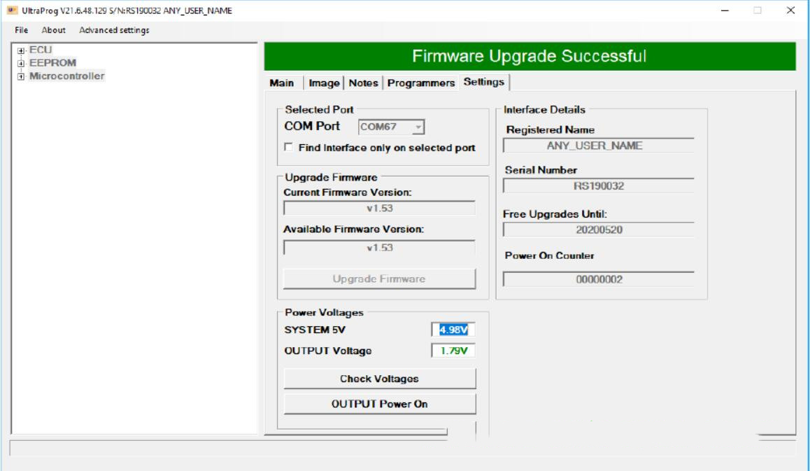 How to Upgrade UltraProg Programmer Firmware (4)