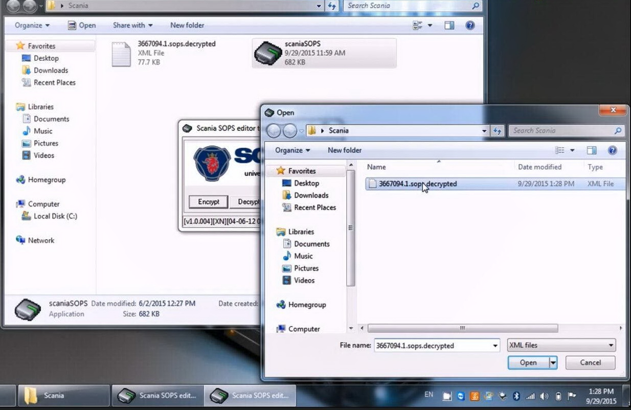 How to use Scania SOPS +XML Editor Change Speed Limit (10)