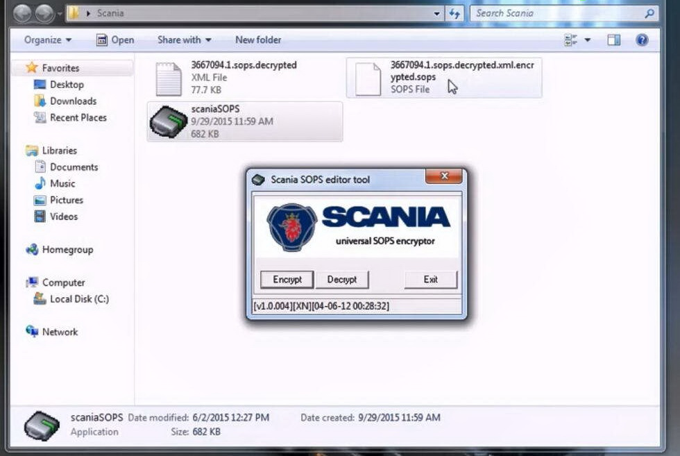 How to use Scania SOPS +XML Editor Change Speed Limit (11)