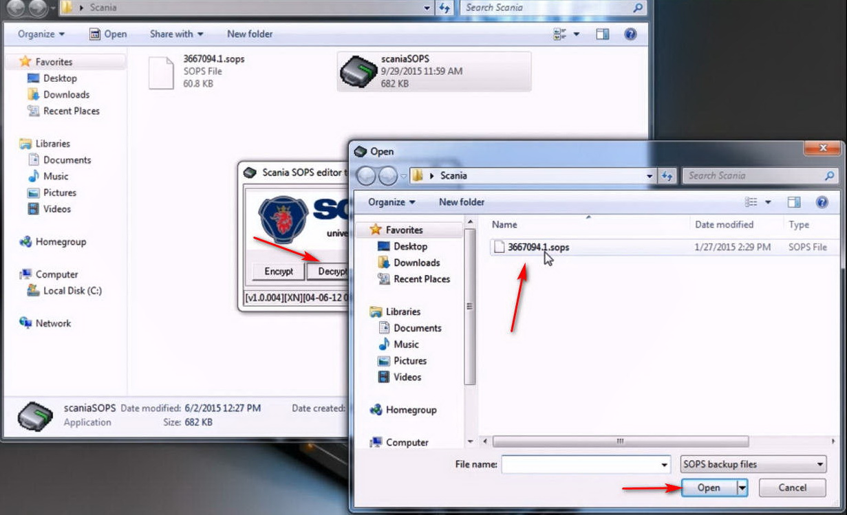 How to use Scania SOPS +XML Editor Change Speed Limit (2)