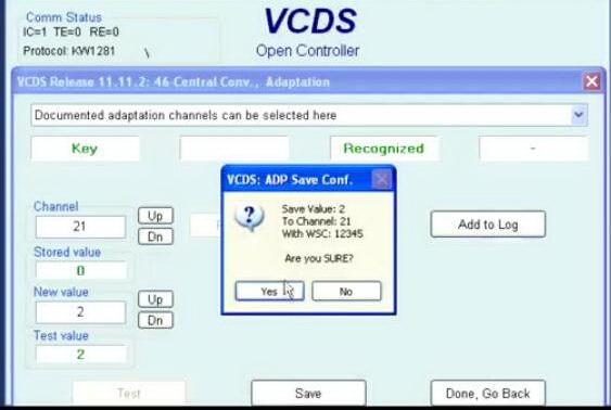 VCDS ProgramAdd New Keys for Audi A4 2001-2008 (13)