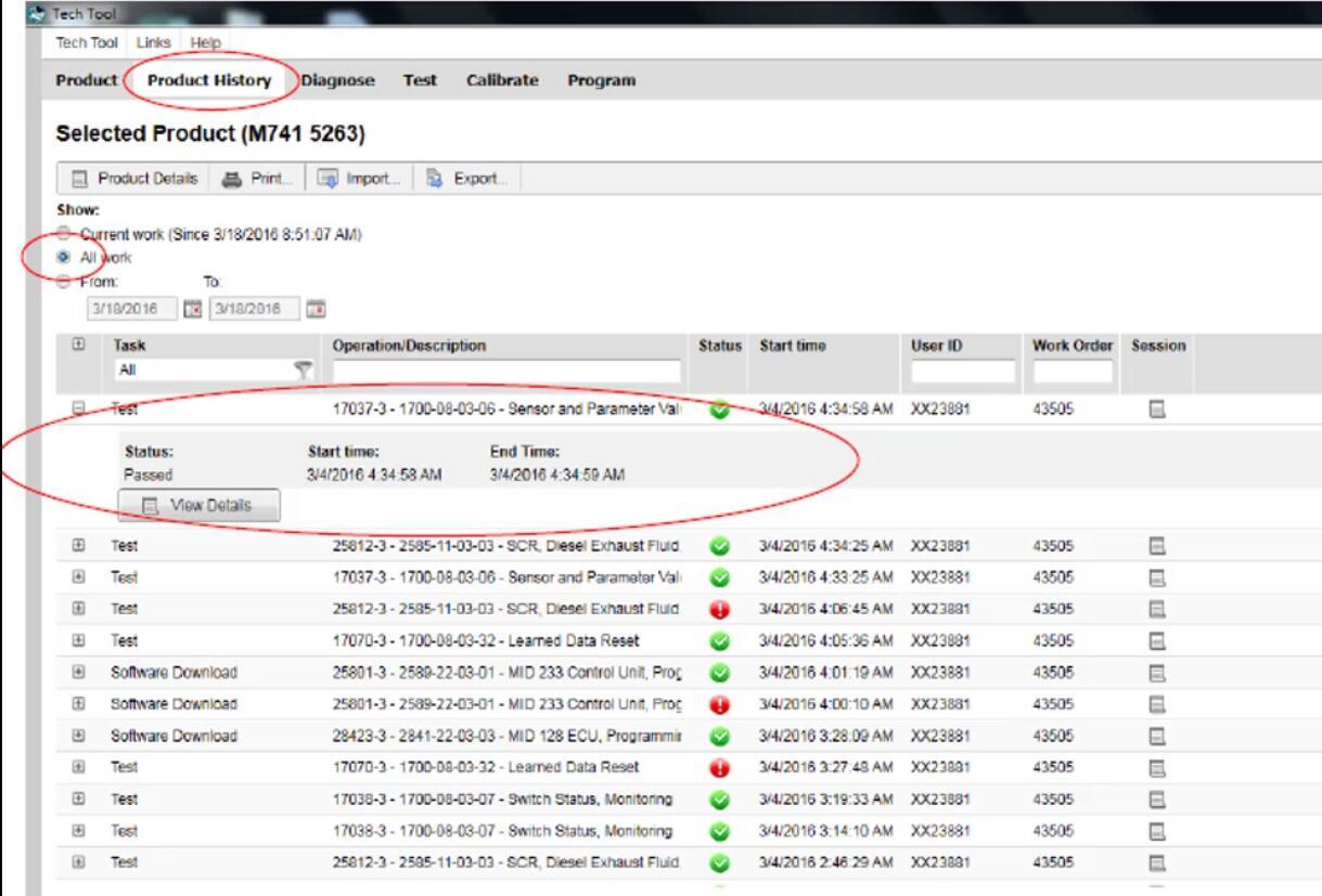 Volvo PTT Export Sensor Values to Excel for Pre-2013OBD
