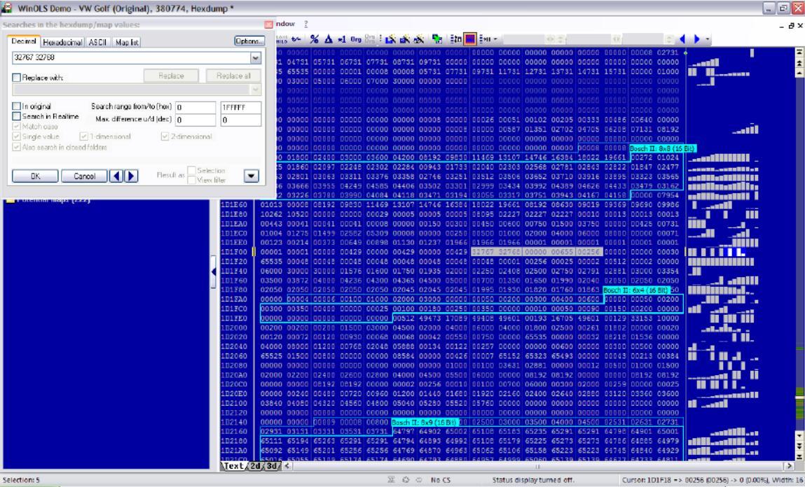 WinOLS DisableClose FAP and DPF for EDC16C34 (3)