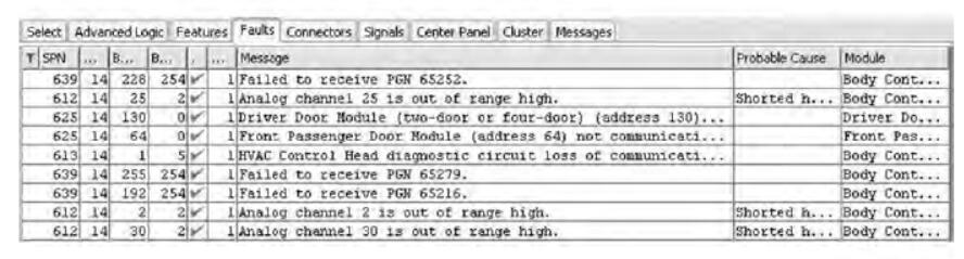 Diamond Logic® Builder Diagnose Read & Clear Fault Codes (4)
