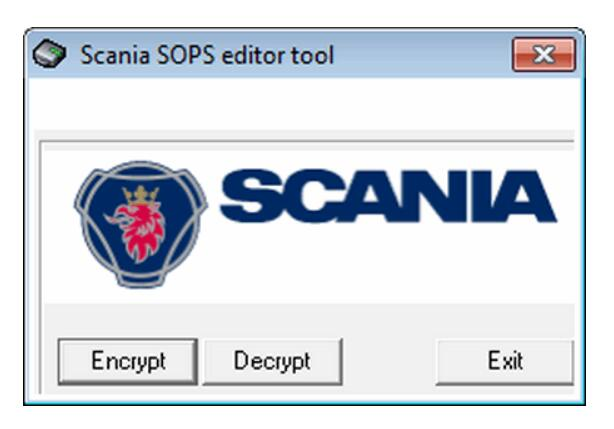 How to Use Scania Sops File Encryptor/Decryptor Convert EURO5 to EURO3
