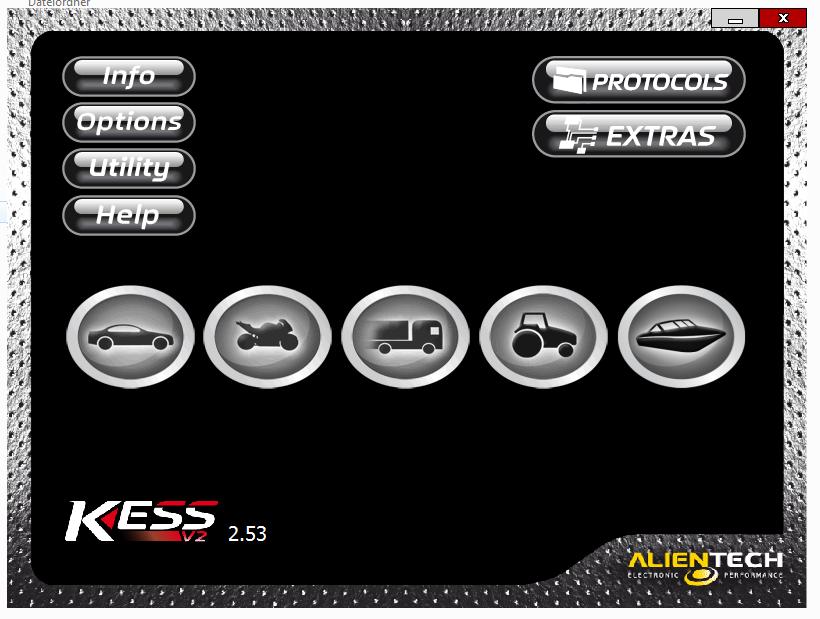 Free download Ksuite 2.53: ok on Kess 5.017 China clone