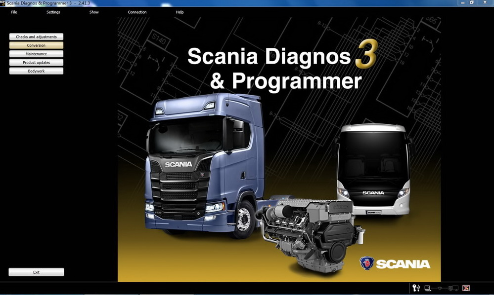 Instructions of Scania SDP 3 Diagnostic Software Installation