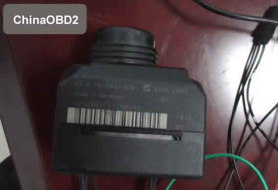 CGDI MB AC Adapter Collect EIS Data for Benz W164 All Key Lost in 6 Minutes