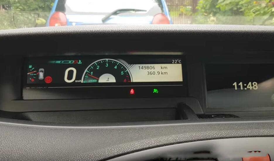 Delphi DS150E Check Real Mileage for Renault Scenic III 2010