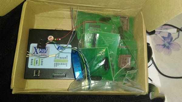 How to Repair BMW E46 AUC Sensor ZKE unit with Xprog M  V5.84