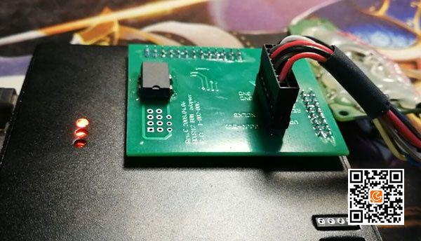 Read Audi ELV/ESL HC908GR16 with Xprog ECU Programmer