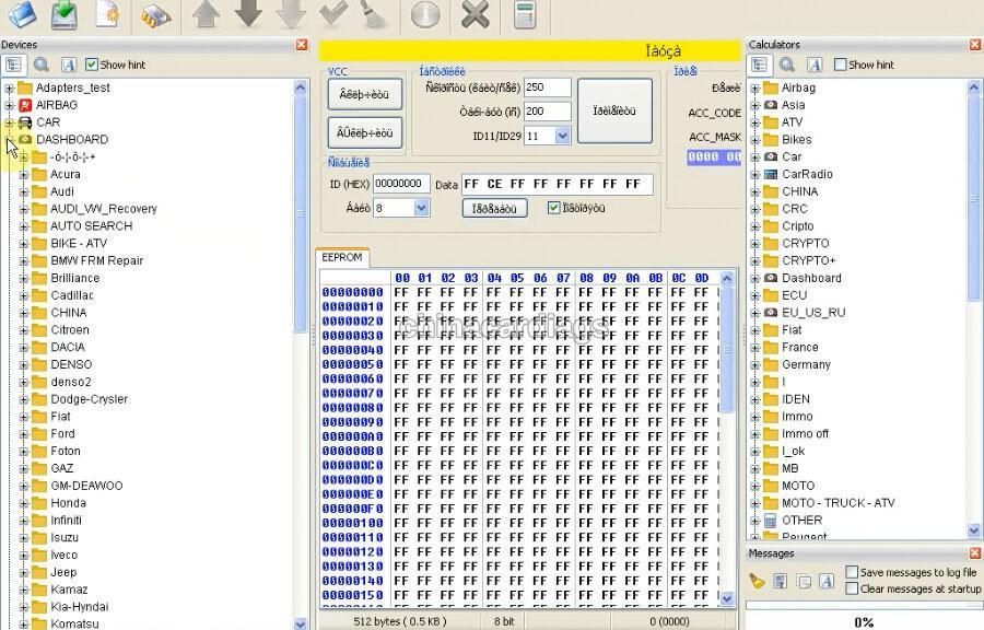How to use iProg+ Programmer iProg Pro Programmer to do odometer correction for Toyota rav4 denso 93c45
