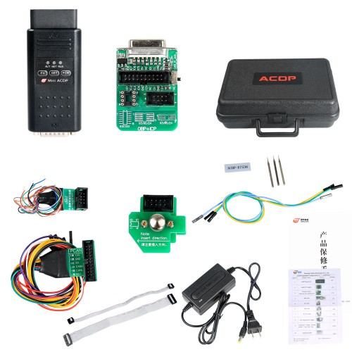 Yanhua Mini ACDP program key on Land Rover KVM (MC9S12XEQ384 112Pin)