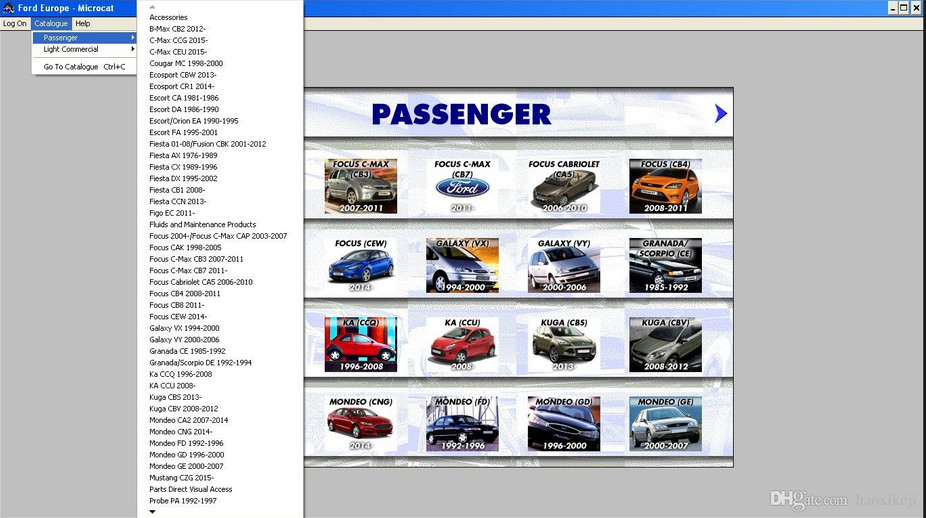 Microcat Ford Parts Catalog Free Download