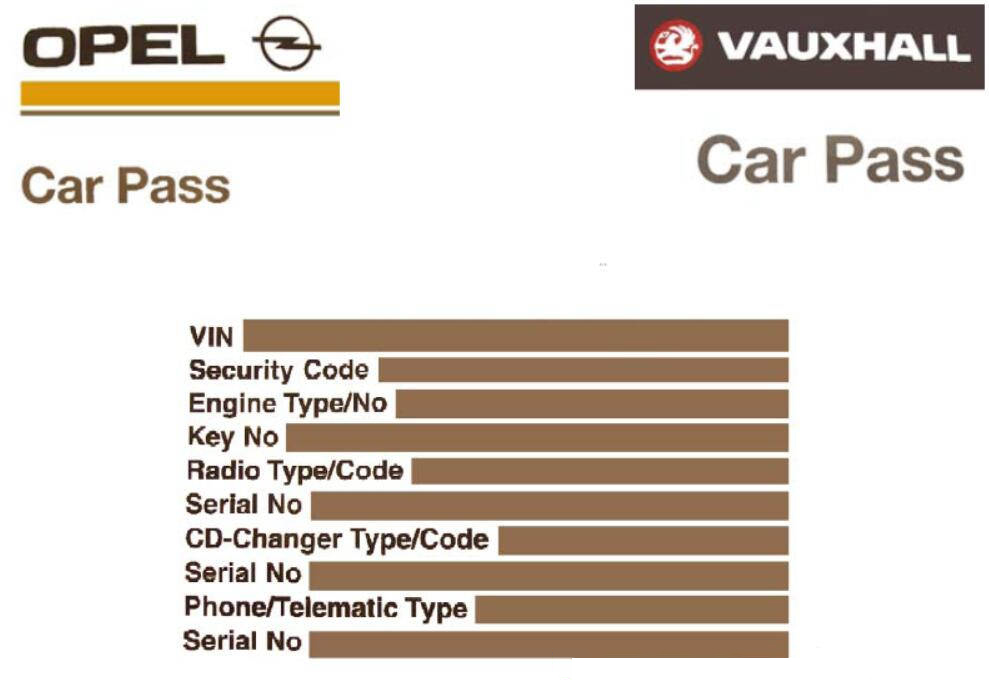 OPCOM Program Immobilizer I II Keys for Opel Guide