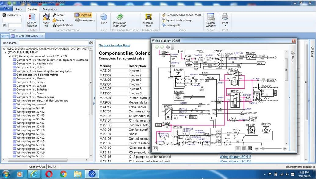 Volvo PROSIS Parts Catalog & Repair Manuals Free Download