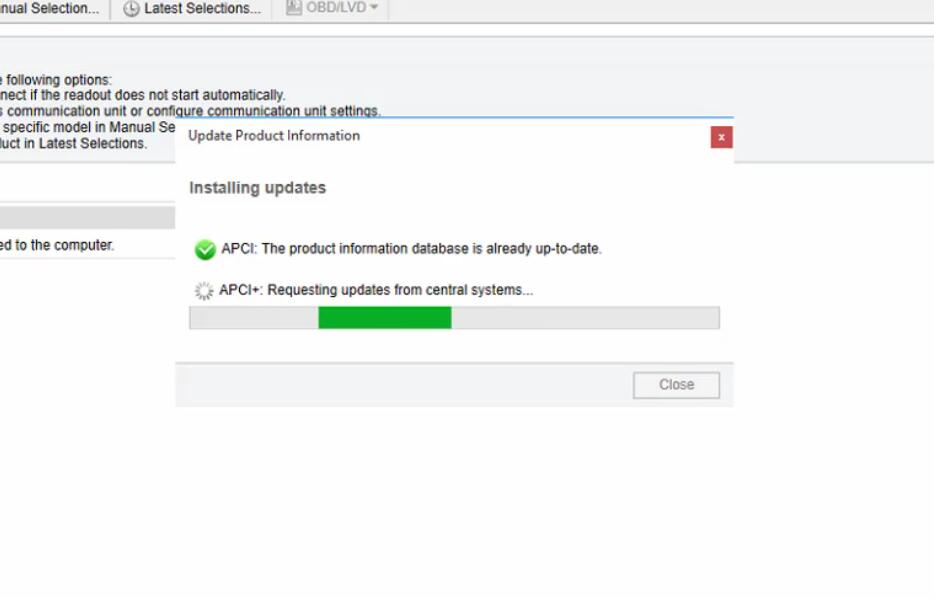 How to Update Product Information (APCI) Volvo PTT