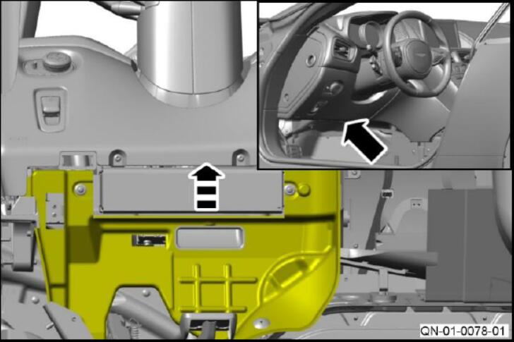 How to Install Steering Column Grounds for Aston Martin DB11