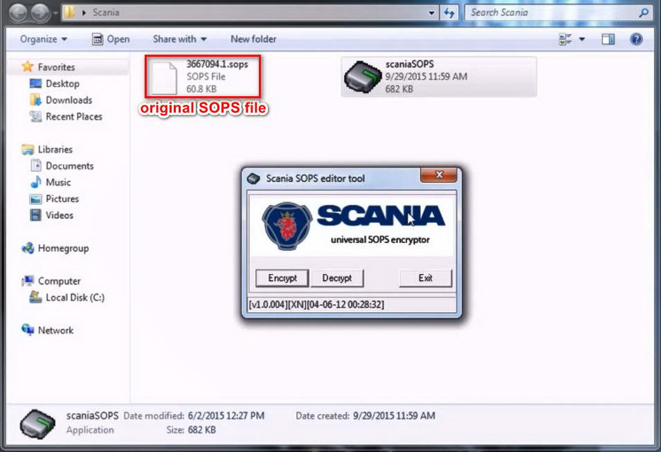 How to use Scania SOPS +XML Editor Change Speed Limit