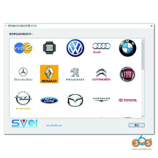 FVDI SVCI 2020 Install