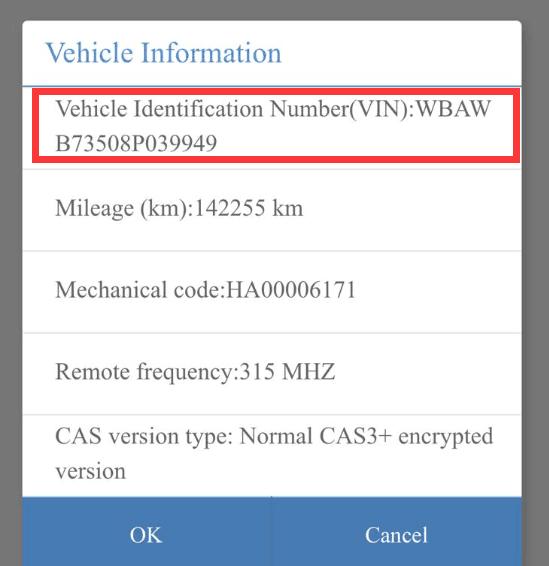 Can Yanhua acdp read 2008 BMW 335 ISN?